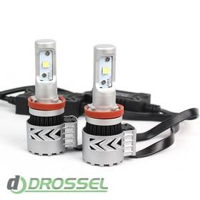 Светодиодная лампа Zax Led Headlight Cree G8 H11 6000Lm