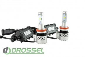 Светодиодная лампа Zax Led Headlight Cree G8 H11 6000Lm_4