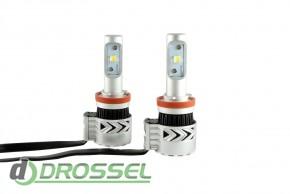 Светодиодная лампа Zax Led Headlight Cree G8 H11 6000Lm_7