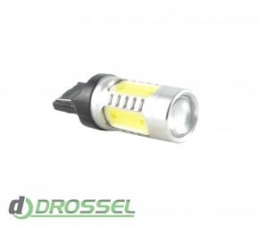 Zax LED T20 (W21 7440 W3х16d) HP Cree 5PCS Lens 11W_7