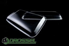 Прозрачные акриловые стекла для фар Audi 80 B4_2
