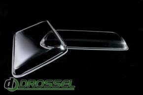 Прозрачные акриловые стекла для фар Audi 80 B4_3