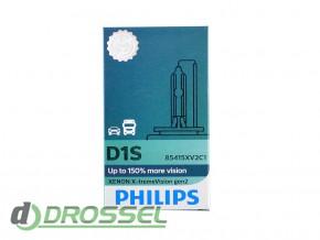 Philips Xenon X-tremeVision gen2 D1S 85415XV2C1 35W 4800K_2