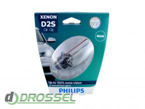 Philips Xenon X-tremeVision gen2 D2S 85122XV2S1 35W 4800K_4