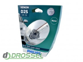 Philips Xenon X-tremeVision gen2 D2S 85122XV2S1 35W 4800K_5