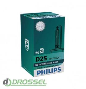 Philips Xenon X-tremeVision gen2 D2S 85122XV2C1