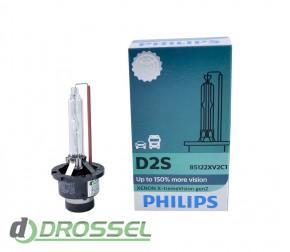Philips Xenon X-tremeVision gen2 D2S 85122XV2C1 35W 4800K_6