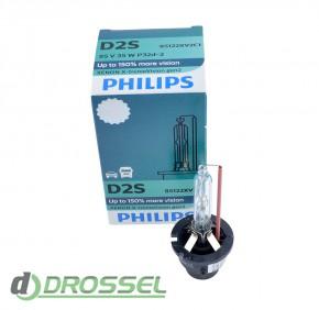 Philips Xenon X-tremeVision gen2 D2S 85122XV2C1 35W 4800K_14