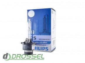 Philips Xenon WhiteVision gen2 D2S 85122WHV2C1 35W 5000K