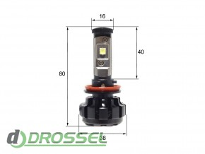 Светодиодная (LED) лампа Sho-Me G1.4 H11 40W_7