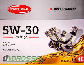 Моторное масло Delphi Prestige 5W-30-4