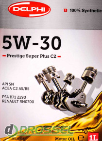 Моторное масло Delphi Prestige Super Plus C2 5W-30-4