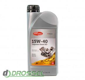 Моторное масло Delphi Supreme Diesel 15W-40-2