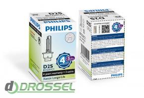 Philips Xenon LongerLife D2S 85122SYC1 35W 4300K_4