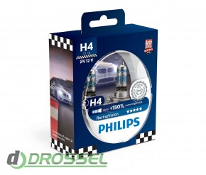 Philips Racing Vision 12342RVS2 (H4) 1