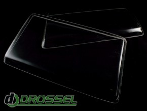 Прозрачные акриловые стекла для фар Mercedes-Benz W124