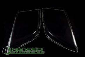 Прозрачные акриловые стекла для фар Opel Omega A_2