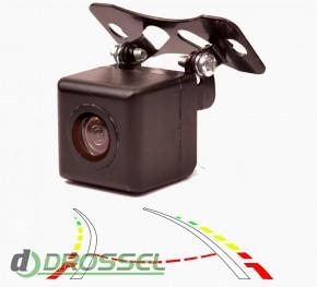 Камера заднего вида с динамической разметкой Prime-X D-5_2