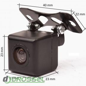 Камера заднего вида с динамической разметкой Prime-X D-5_3