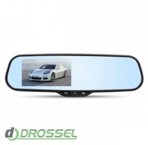 Зеркало с видеорегистратором и монитором RS DVR-214WF