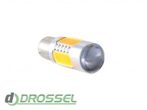 Zax LED S25 (P21W 1156 BA15S) HIGH POWER Cree 5PCS Lens 11W Yell