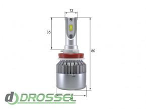 Светодиодная (LED) лампа Sho-Me G7.1 H8 / H11 36W_7