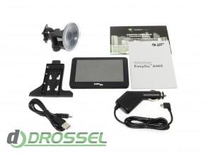 GPS-навигатор EasyGo A505 с лицензионным ПО Navitel_8