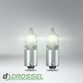 Комплект ламп накаливания Osram Ultra Life 64132 (H6W)-3