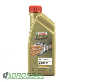 Моторное масло Castrol EDGE Professional V 0W-20