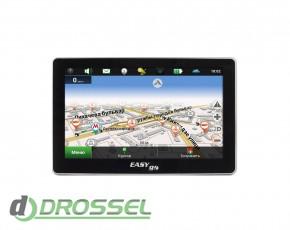 GPS-навигатор EasyGo 555 с картой Украины (Навител)