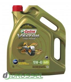 Моторное масло Castrol Vecton Long Drain 10W-40 E6/E9_2