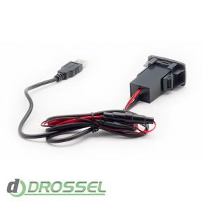USB разъем Carav 17-105 для автомобилей Honda / Acura_2