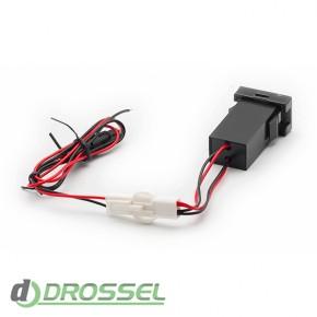 USB разъем Carav 17-204 в заглушку Toyota / Lexus New_2