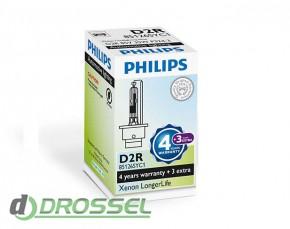 Ксеноновая лампа Philips Xenon LongerLife D2R 85126SYC1