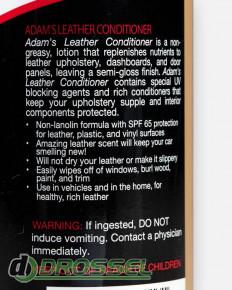 Adam's Polishes Leather Conditioner 6