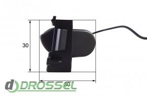 Камера заднего вида Falcon SC02HCCD-170 для Toyota RAV4 (улучшен