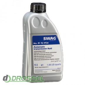 SWAG SW 81929934 трансмиссионное масло