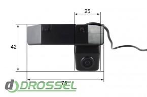 Камера заднего вида Falcon SC08CCD-170 для Mazda 6 2009_4