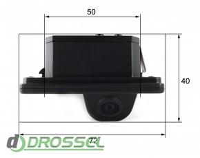 Камера заднего вида Falcon SC20CCD-170 для BMW X5, X6_4