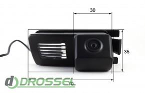Камера заднего вида Falcon SC22HCCD-170 для Nissan Livina, Genes