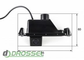 Камера заднего вида Falcon SC38HCCD-170 для Hyundai i30, Coupe,