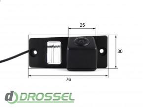 Камера заднего вида Falcon SC41HCCD-170 для Kia Cerato (улучшенн