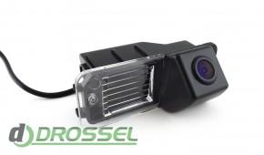 Камера заднего вида Falcon SC44HCCD-170 для Volkswagen Golf 6 (у