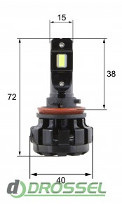 G1.6 H11 30W Светодиодная (LED) лампа 2