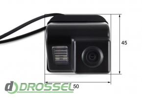 Камера заднего вида Falcon SC46HCCD-170 для Mazda 6 2008 (улучше