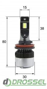 G1.7 H11 30W Светодиодная (LED) лампа 2