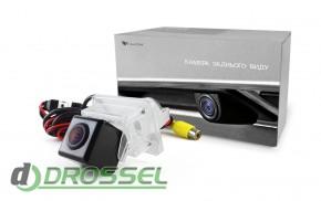 Камера заднего вида Falcon SC55HCCD-170 для Mercedes E-Class (ул