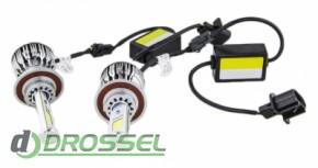 Светодиодная (LED) лампа Sho-Me G2.1 H13 6000K 40W