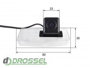 Камера заднего вида Falcon SC63HCCD-170 для Lexus CT-200H (улучш