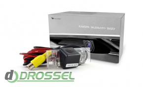 Камера заднего вида Falcon SC67HCCD-170 для Peugeot 408/508 (улу